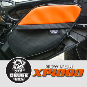 xp1000 door bags large orange black