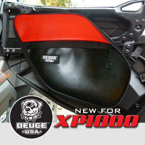 xp1000 door bags red drivers side