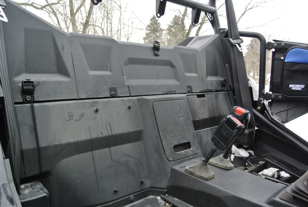 Deuce USA Polaris 2018-2016 RZR xp1000 S Soft Top Rear Window Set